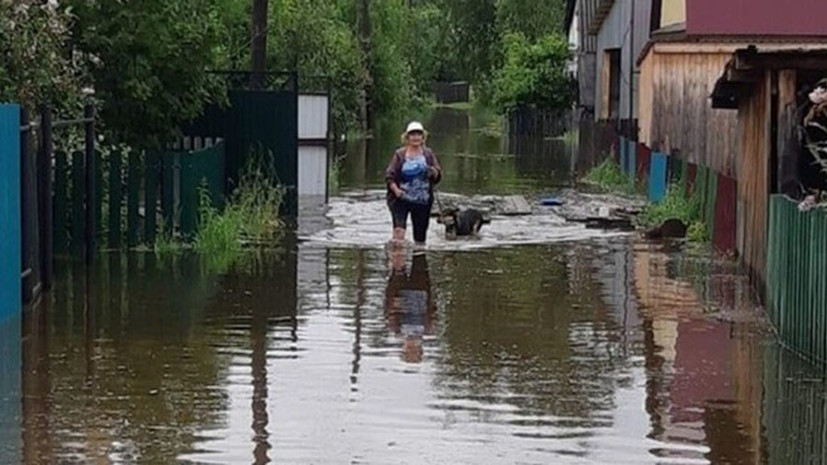 В Иркутской области после подтопления более 500 домов введён режим ЧС