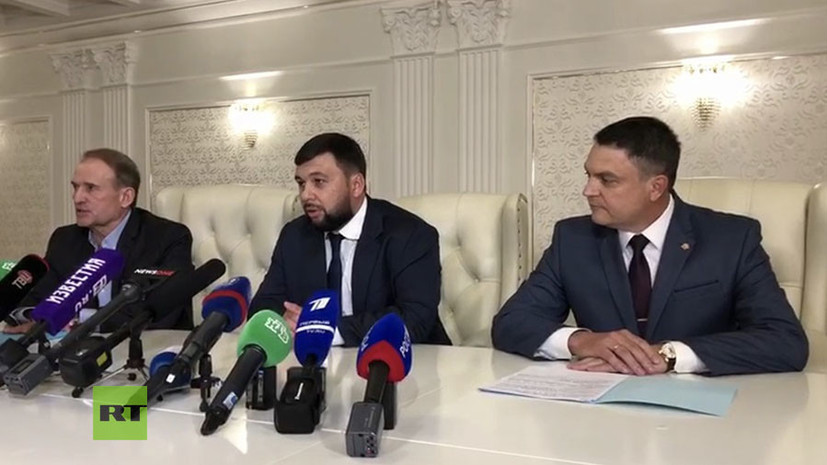 ДНР и ЛНР согласились на освобождение четырёх пленных