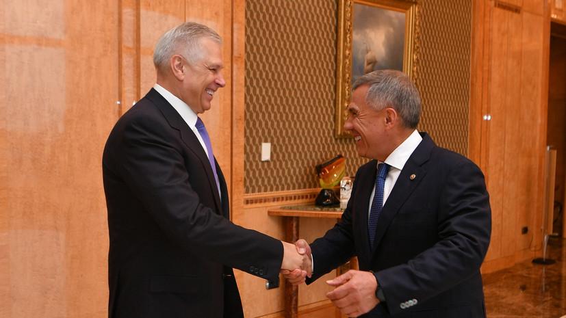 Президент Татарстана встретился с главой Россельхознадзора