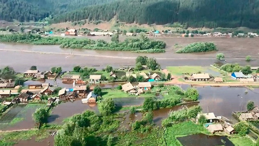 МЧС: в Иркутской области подтоплены паводком более 1800 домов