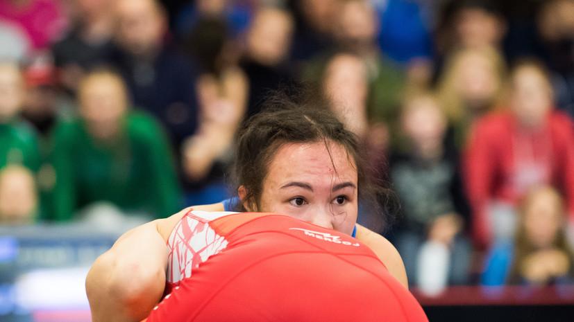 Россиянка Оршуш завоевала бронзу в женской борьбе на ЕИ-2019