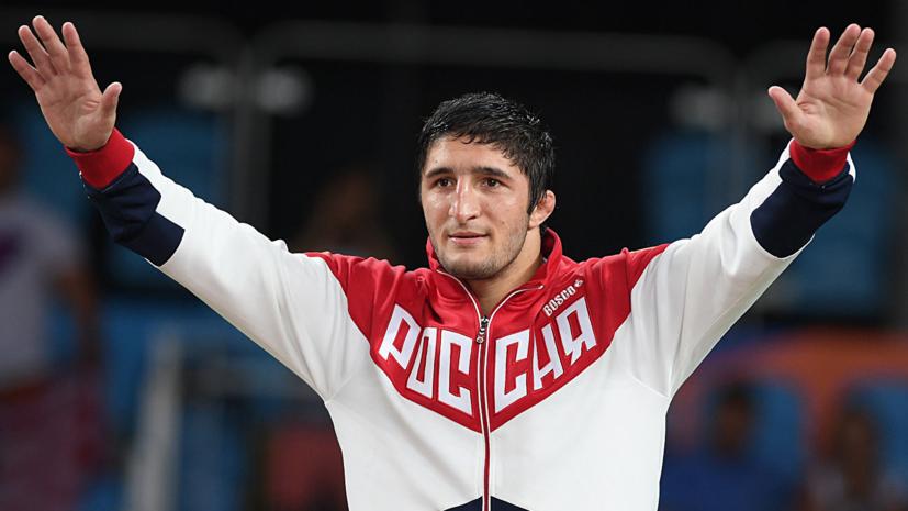 Борец Садулаев завоевал золото Европейских игр в Минске