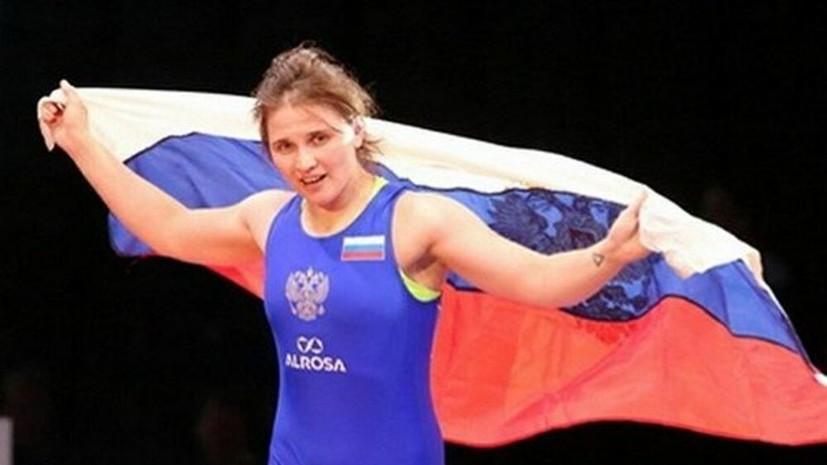 Братчикова стала серебряной медалисткой ЕИ-2019 в женской борьбе