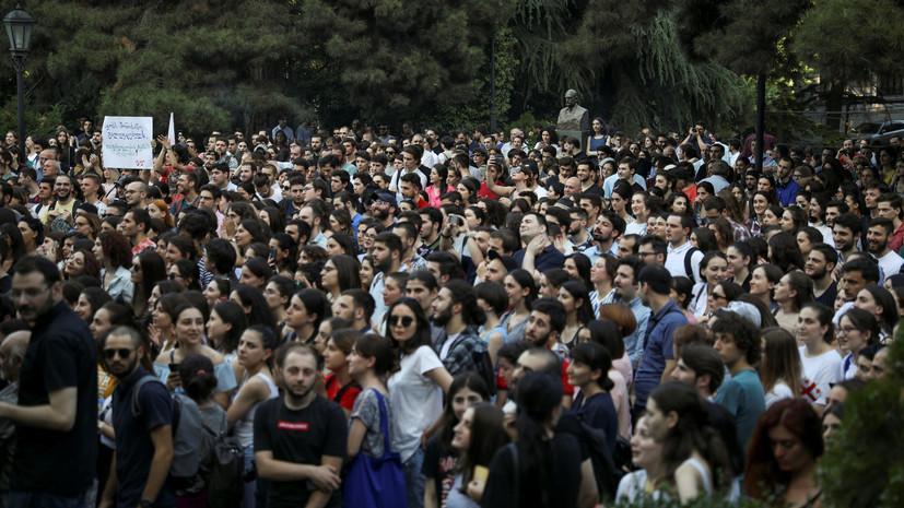 Глава МВД Грузии допустил запрет на применение резиновых пуль полицией