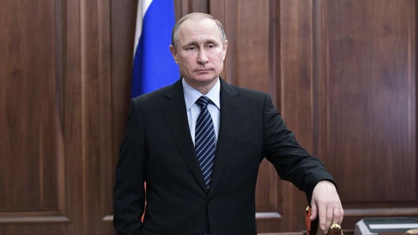 Путин: Россия и Британия заинтересованы в восстановлении отношений
