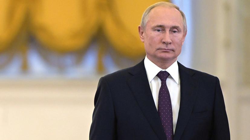 Путин назвал Трампа талантливым человеком