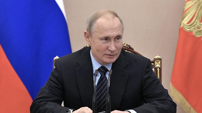 Путин рассказал, чего Россия добилась в Сирии