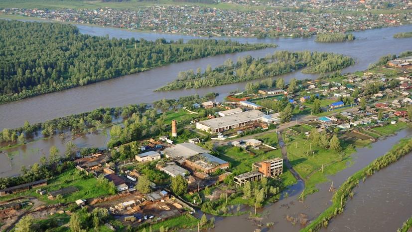 Семья погибла в результате паводка в Иркутской области
