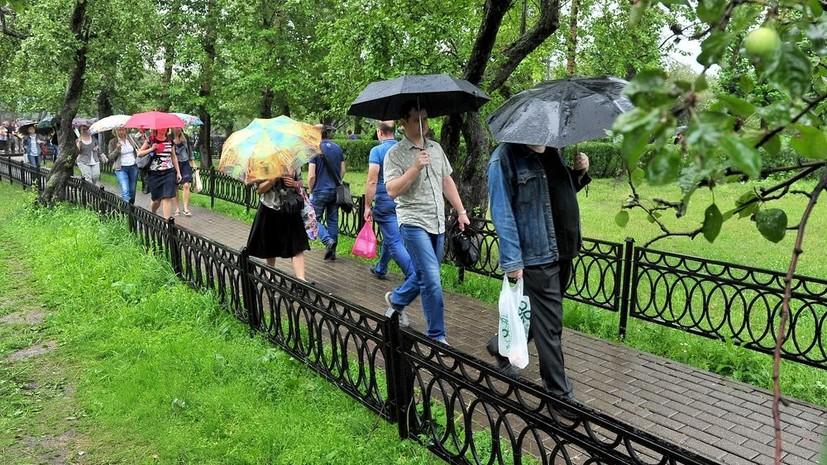В Москве за двое суток выпало более 30% от месячной нормы осадков