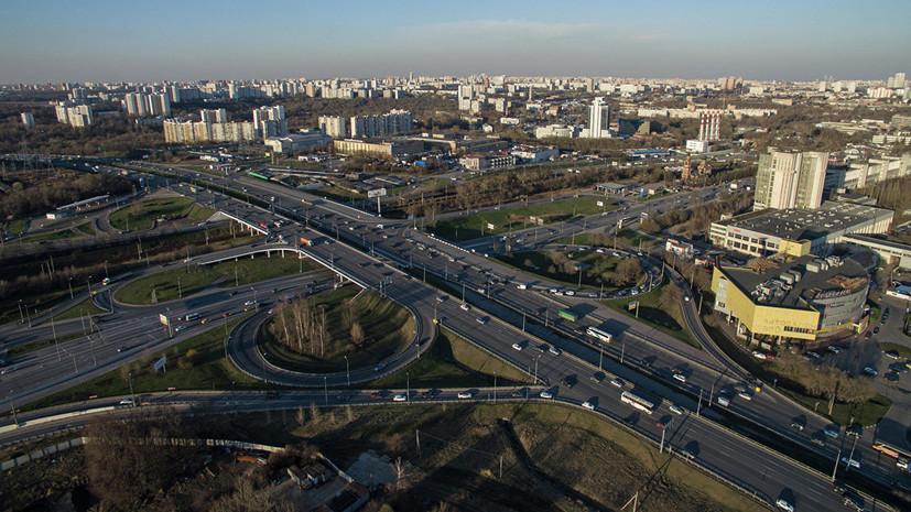 Строительство на развязке в Красногорске планируют закончить в сентябре