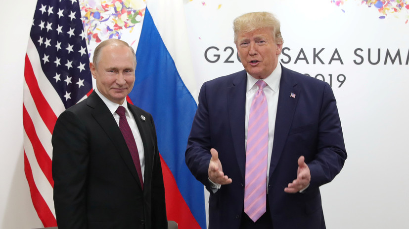 Трамп сравнил с «Оскаром» обстановку в начале встречи с Путиным