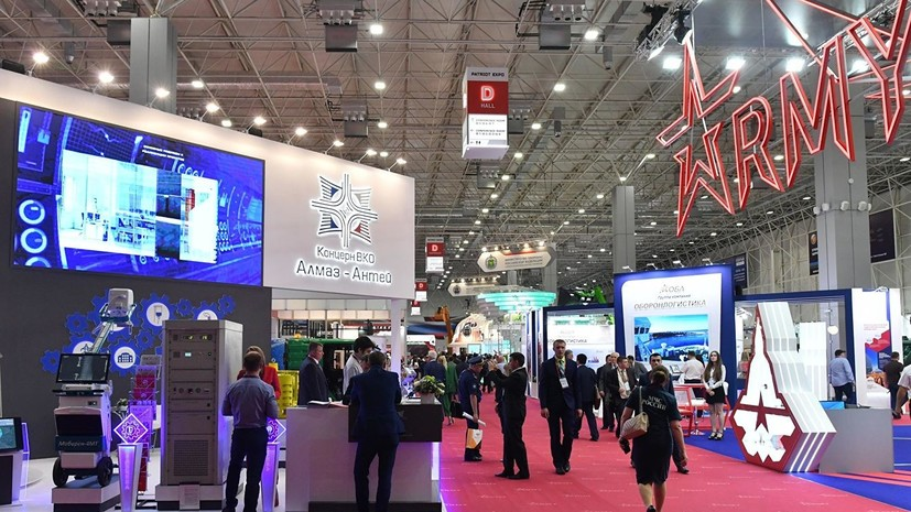 На форуме «Армия-2019» представили двуствольный автомат АО-32