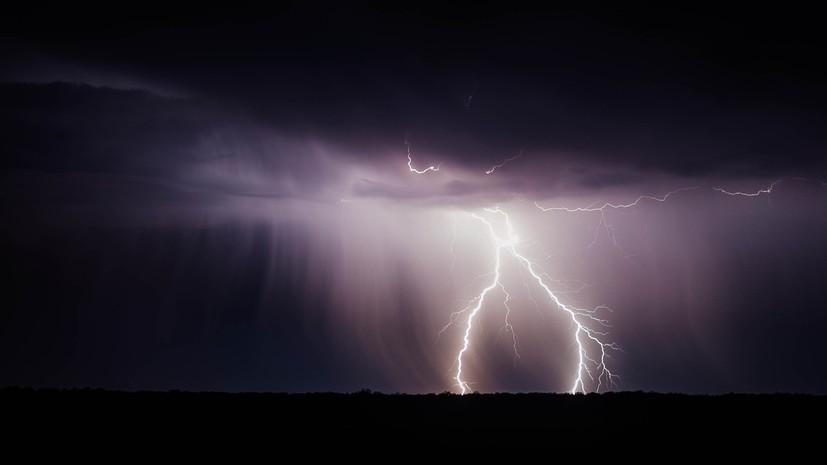 Синоптики предупредили о грозах и ветре до 20 м/с в Удмуртии