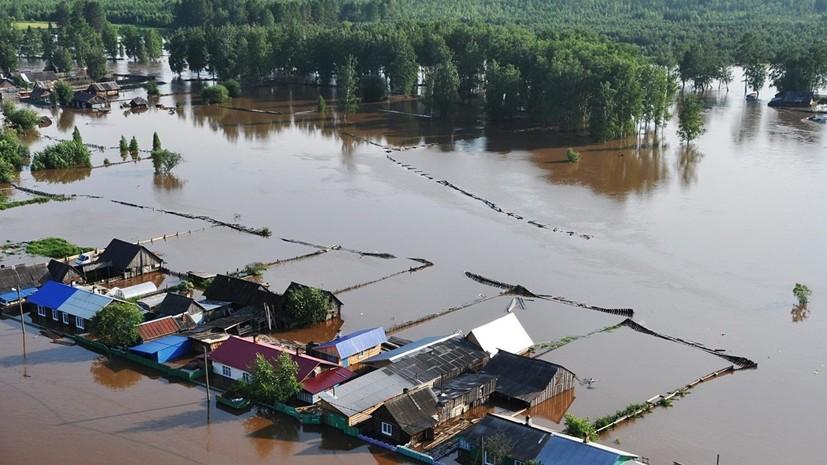 В Тулуне паводок подтопил почти 900 домов