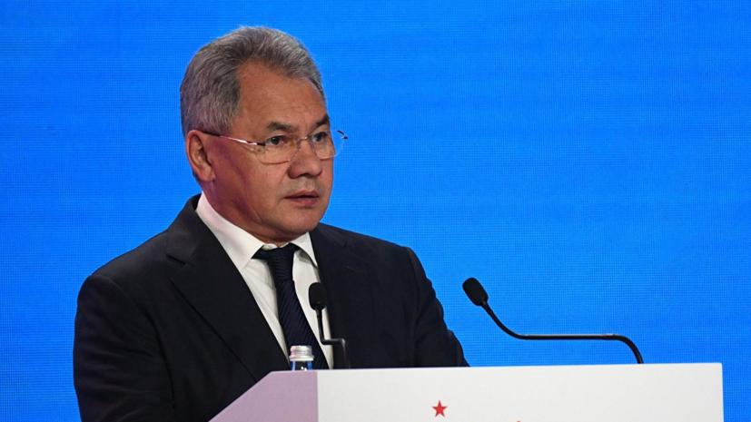 Шойгу призвал ввести наказание за снос памятников воинам СССР