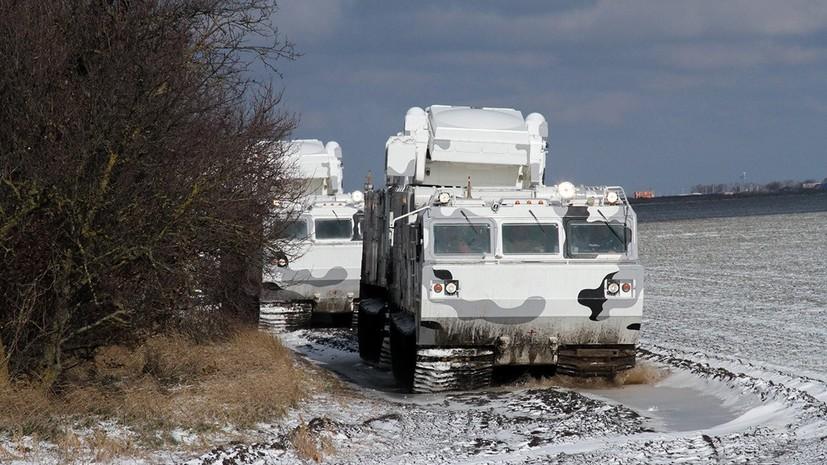 Россия усилила группировку в Арктике новыми комплексами ПВО