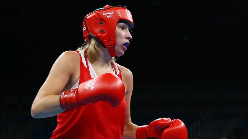 Белякова и Сандакова завоевали бронзу ЕИ-2019 в соревнованиях по боксу