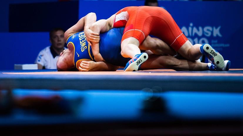 Кузнецова завоевала бронзу Европейских игр в соревнованиях по борьбе