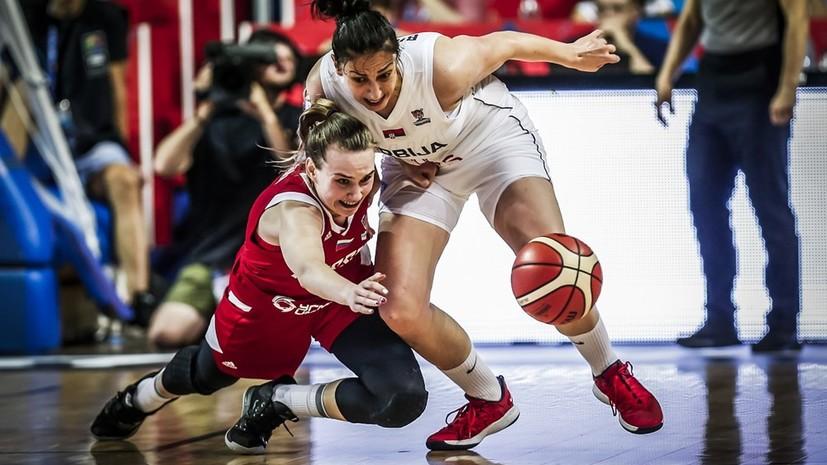 Сборная России потерпела второе поражение на женском Евробаскете-2019