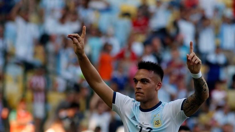 Аргентина обыграла Венесуэлу и вышла в полуфинал Кубка Америки — 2019