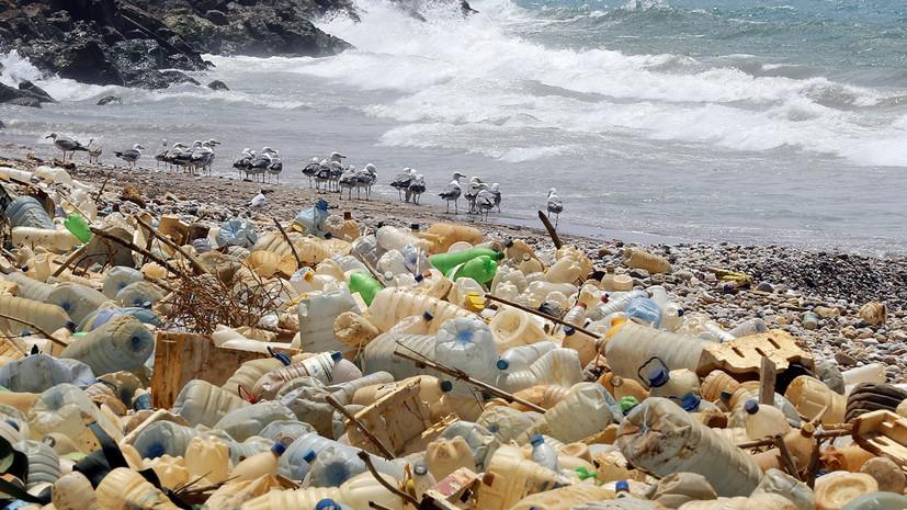 Абэ: страны G20 будут стремиться к отказу от выбросов пластика в океан