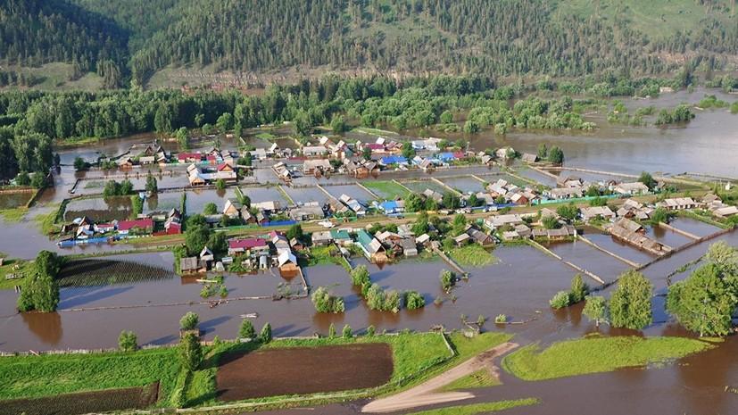Власти выделят Иркутской области до 662 млн рублей из-за наводнения