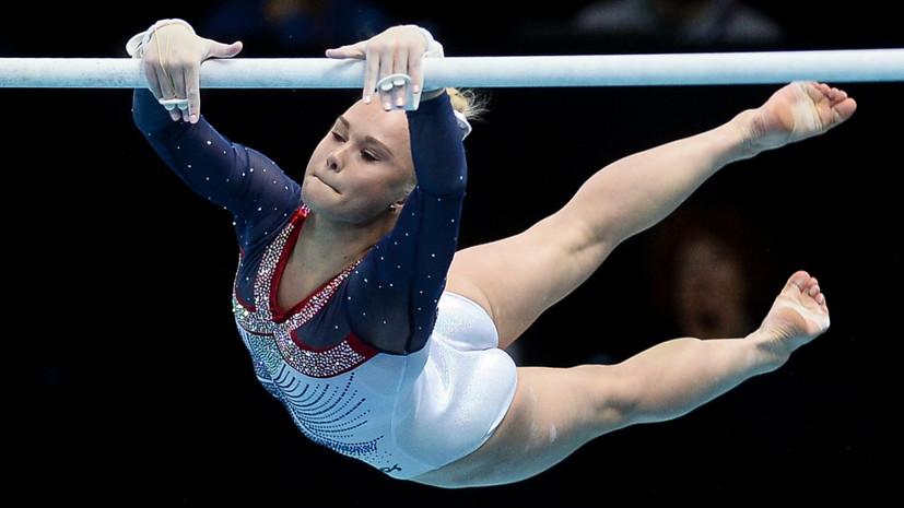 Гимнастка Мельникова завоевала золото в многоборье на Европейских играх — 2019