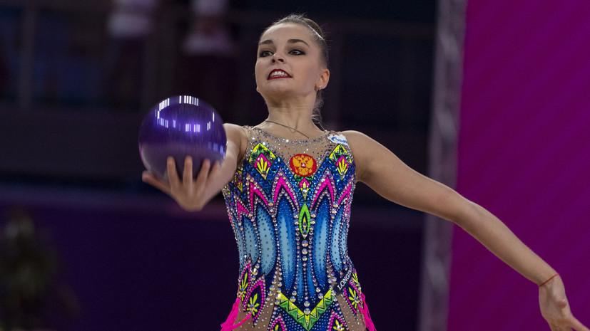 Арина Аверина победила на ЧР по художественной гимнастике в многоборье