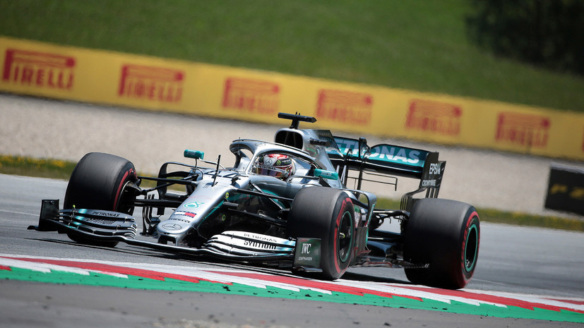 Хэмилтон оштрафован потерей мест на старте гонки Гран-при Австрии за блокировку Райкконена