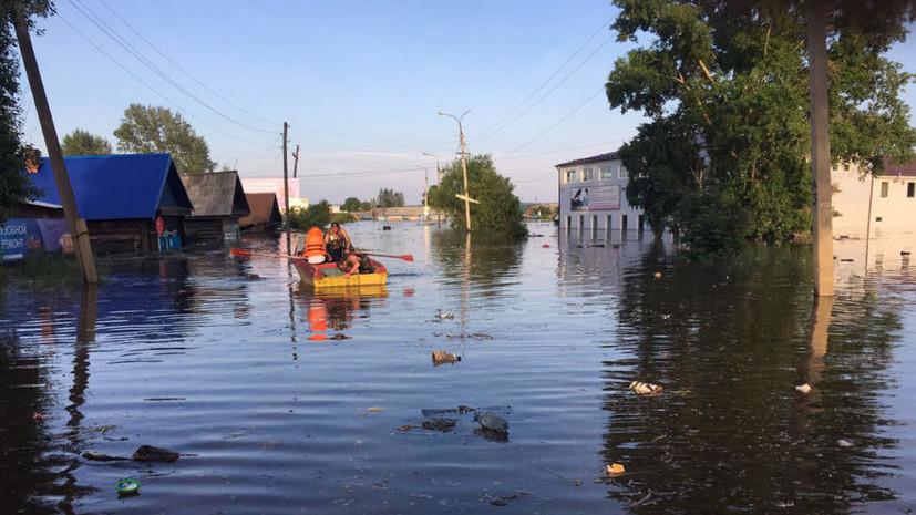 В Иркутской области шесть населённых пунктов отрезаны из-за паводков