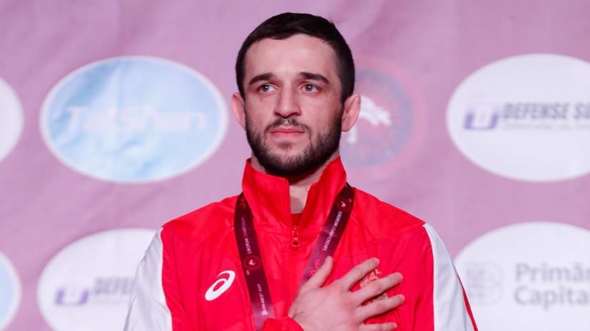 Борец Кабалоев завоевал золото Европейских игр 2019 года