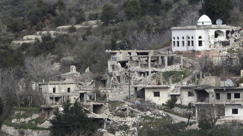 ЦПВС: боевики обстреляли пять сирийских населённых пунктов за сутки