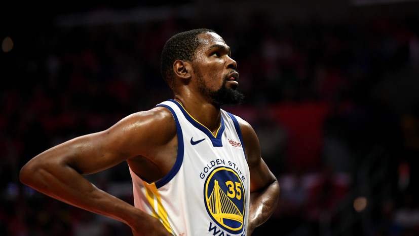 Игрок «Голден Стейт» Дюрант намерен рассмотреть предложения четырёх клубов НБА
