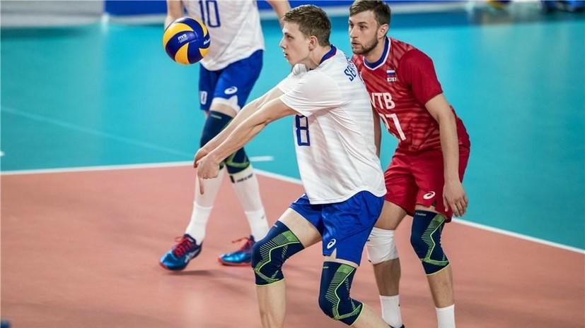 Сборная России обыграла Китай в матче волейбольной Лиги наций