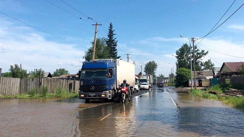 В подтопленных районах Иркутской области начали проверку из-за роста цен