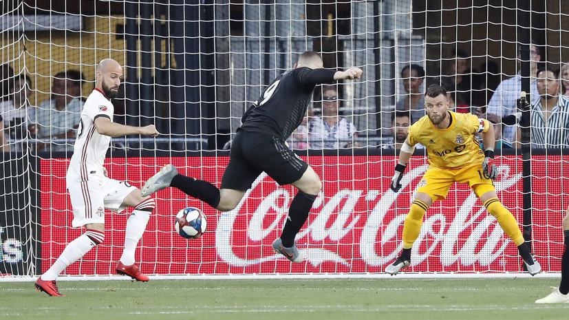 Гол Руни с пенальти спас «Ди-Си Юнайтед» от поражения в матче MLS