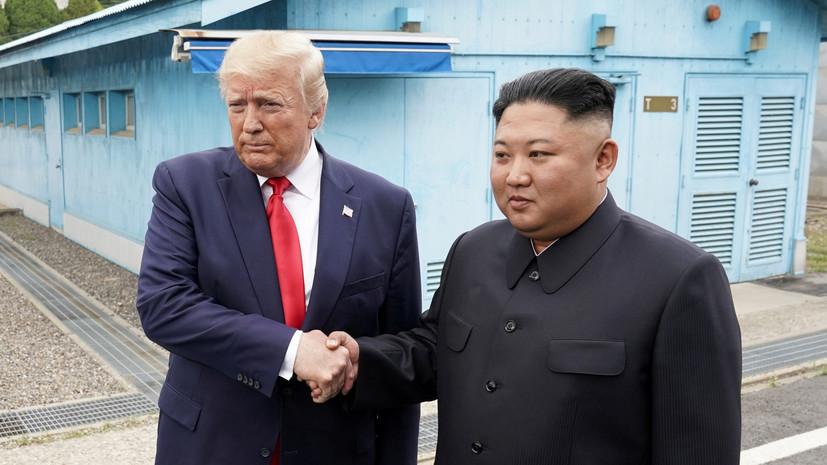 Трамп пригласил Ким Чен Ына в США