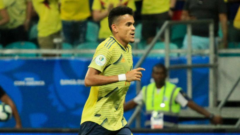 Колумбийский футболист Диас подтвердил, что получил предложение от «Зенита»