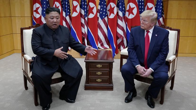 СМИ: Гришэм получила ушибы во время давки на встрече Трампа и Ким Чен Ына