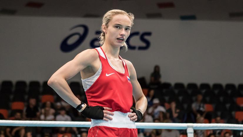 Солуянова завоевала серебро Европейских игр в соревнованиях по боксу
