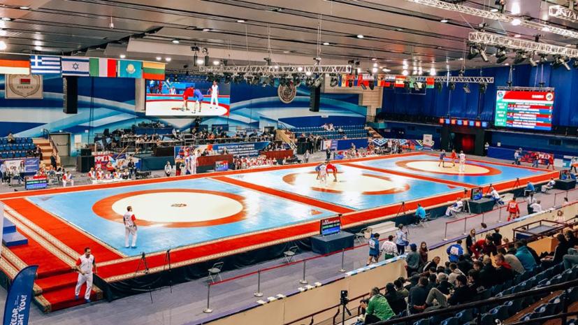 Борец Головин завоевал бронзу Европейских игр 2019 года