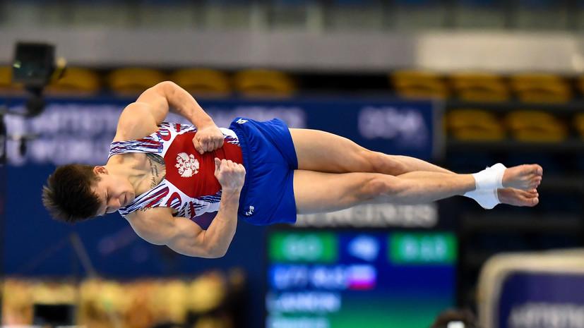 Гимнаст Ланкин стал вторым в опорном прыжке на Европейских играх