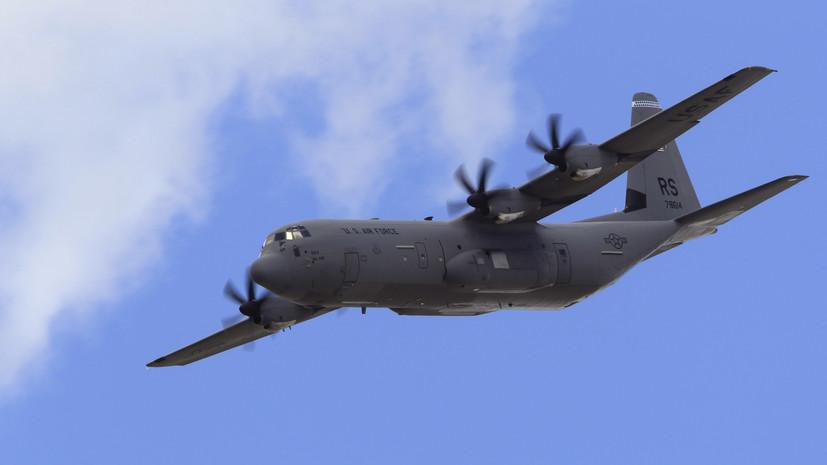 Военно-транспортные самолёты НАТО прибыли в Одессу