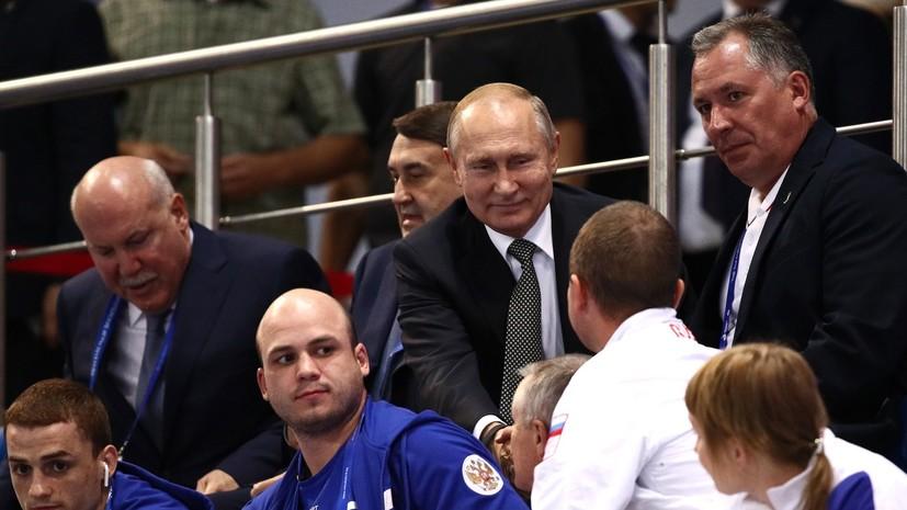 Путин посетил закрытие Европейских игр в Минске