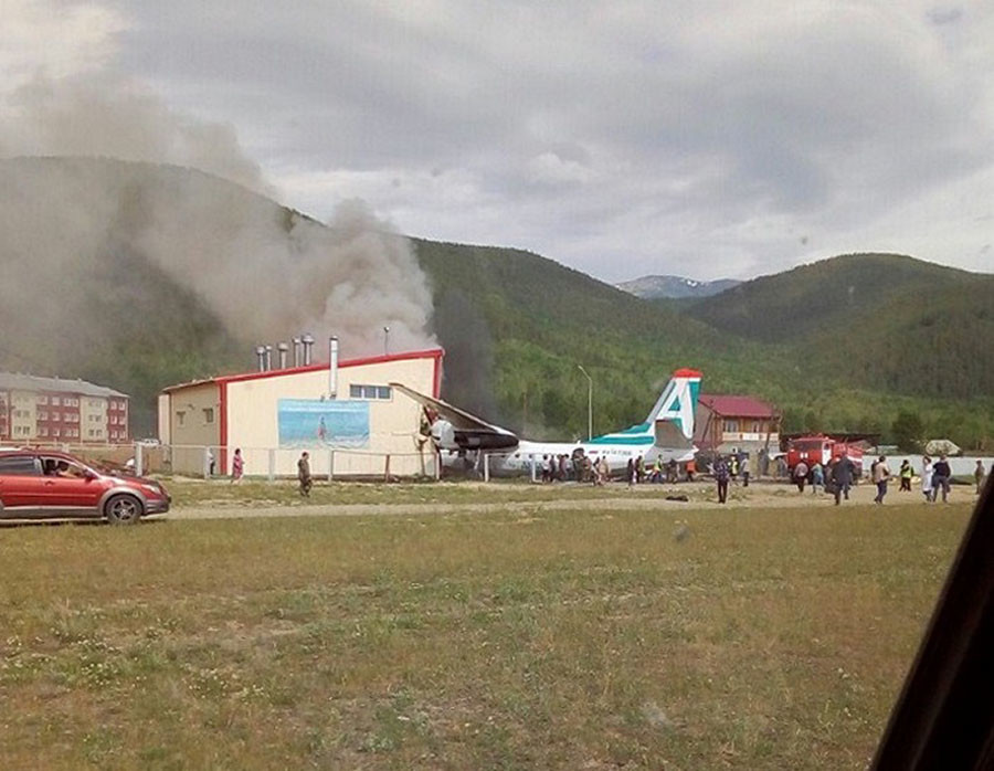 Two died and 21 people suffered in the crash of the An-24 in