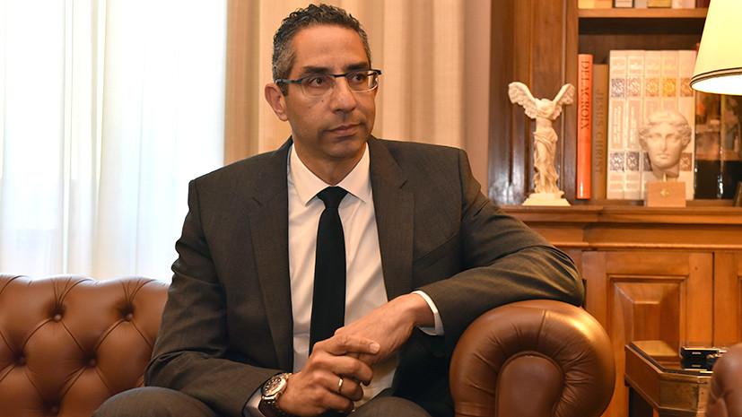 Министр обороны Республики Кипр Саввас Ангелидис globallookpress.com © Dimitrios Karvountzis/ZUMAPRESS.com