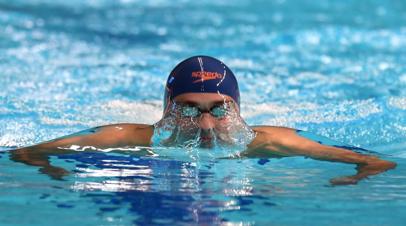 Пловец Чупков занял первое место на этапе Серии чемпионов в США