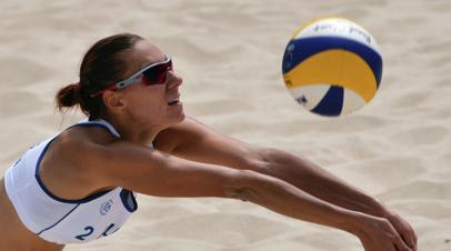 Россиянки Дабижа и Рудых стали третьими на этапе Мирового тура по пляжному волейболу
