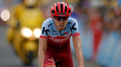 Российский велогонщик Закарин выступит на «Тур де Франс»