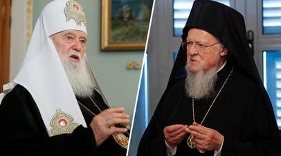 «На Украине идёт передел религиозного влияния»: константинопольский патриарх не признал существование УПЦ КП